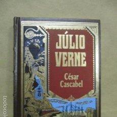 Libros de segunda mano: NOVELA JULIO VERNE: CÉSAR CASCABEL (RBA 2003 EN PORTUGUES) EXCELENTE ESTADO. Lote 55379116