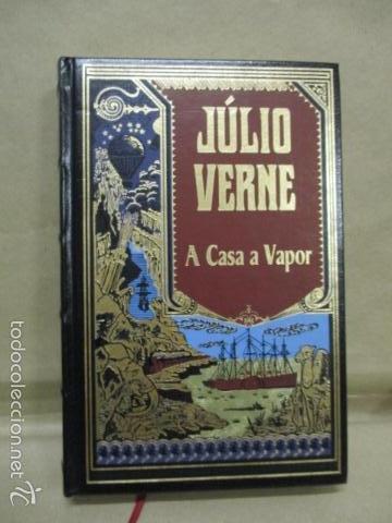 A CASA A VAPOR - VERNE, JULIO (RBA - EN PORTUGUES) EXCELENTE ESTADO (Libros de Segunda Mano (posteriores a 1936) - Literatura - Narrativa - Ciencia Ficción y Fantasía)