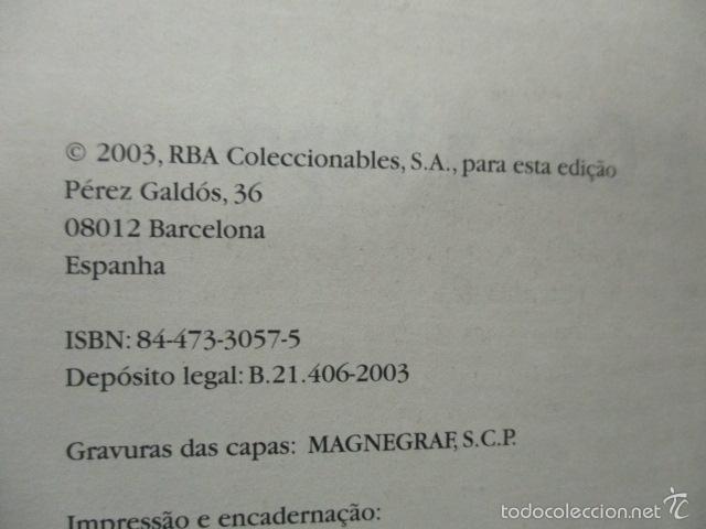 Libros de segunda mano: A casa a vapor - Verne, Julio (RBA - En Portugues) Excelente estado - Foto 4 - 55379154