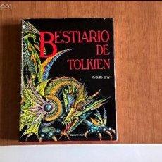 Libri di seconda mano: BESTIARIO DE TOLKIEN TIMUN MAS EDICION 1989 EL SEÑOR DE LOS ANILLOS HOBBIT. Lote 55818720
