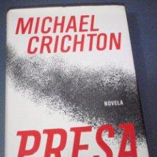 Libros de segunda mano: PRESA. MICHAEL CRICHTON. PLAZA & JANES. 2003 NOVELA MUY BUEN ESTADO. Lote 56127611