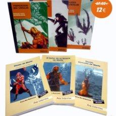Libros de segunda mano: PACK DE 6 TÍTULOS DE EDGAR RICE BURROUGHS, PULP EDICIONES, 2004-2005 OFRT. Lote 143113918