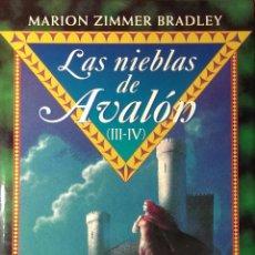 Libros de segunda mano: LAS NIEBLAS DE AVALÓN (III-IV) EL REY CIERVO. EL PRISIONERO DEN EL ROBLE/ MARION ZIMMER BRADLEY . Lote 56218200