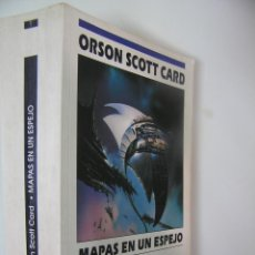 Livros em segunda mão: MAPAS EN UN ESPEJO,ORSON SCOTT CARD,1993,EDICIONES B ED,REF C. FICCION BS3. Lote 56268621