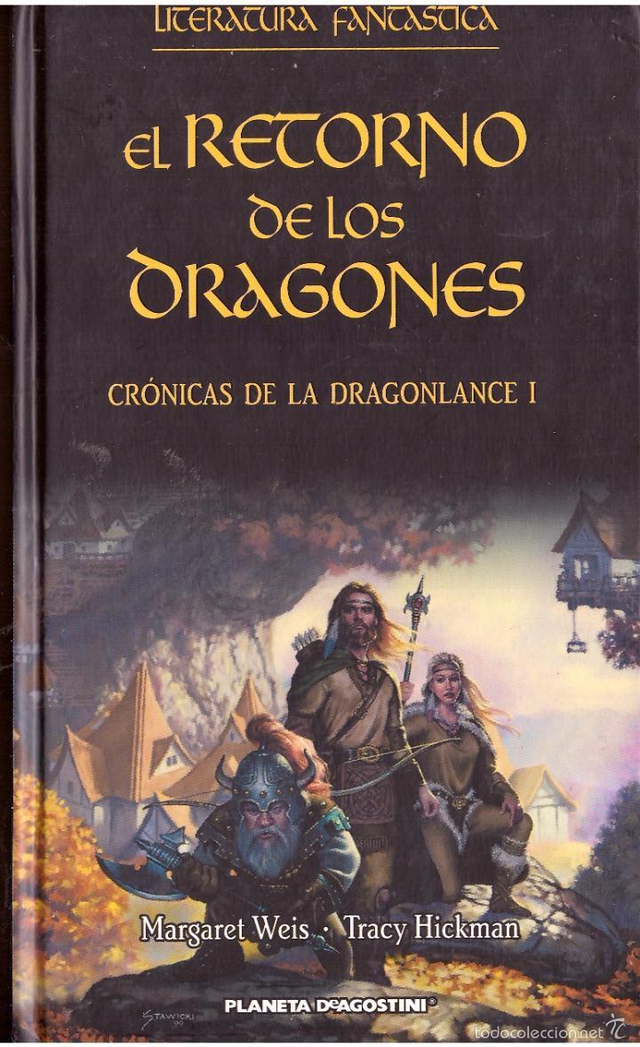 Novela el retorno de los dragones cronicas de la dragonlance i margaret weis