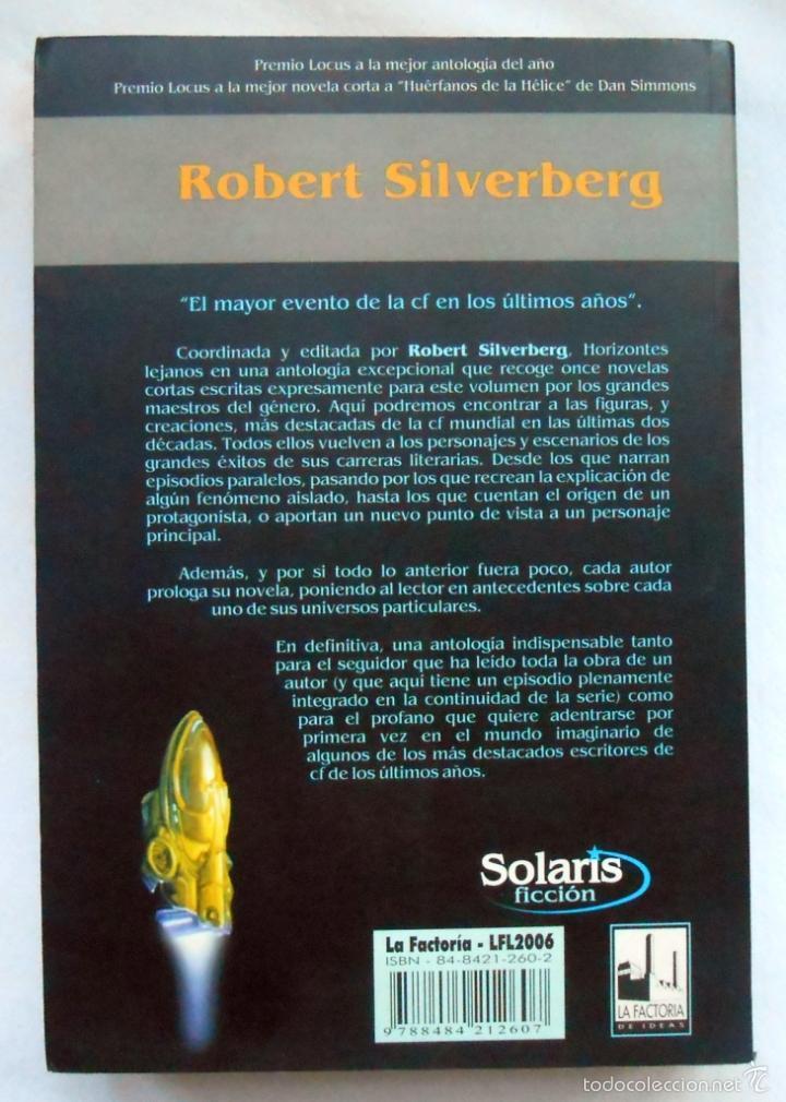 horizontes lejanos robert silverberg
