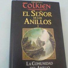 Libros de segunda mano: TOLKIEN - EL SEÑOR DE LOS ANILLOS I - LA COMUNIDAD DEL ANILLO PRIMERA PARTE - MINOTAURO 2002. Lote 57372121