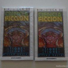 Libros de segunda mano: ¡TIGRE! ¡TIGRE! - ALFRED BESTER - 2 LIBROS. Lote 57585410