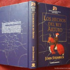Libros de segunda mano: LOS HECHOS DEL REY ARTURO JOHN STEIMBECK P. DEAGOSTINI 1999-¡OFERTA MAS DE DOS LIBROS DESCUENTO 20%!. Lote 57629272