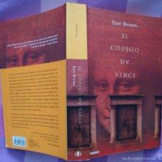 Libros de segunda mano: DAN BROWN-EL CÓDIGO DA VINCI-NARRATIVA UMBRIEL 2005-¡OFERTA MAS DE 4 LIBROS DESCUENTO 30%!. Lote 57675525
