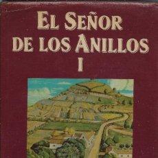 Libros de segunda mano: J.R.R. TOLKIEN L SEÑOR DE LOS ANILLOS I EDITORIAL MINOTAURO 1987. Lote 59730385