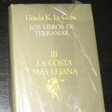 Libros de segunda mano: LA COSTA MAS LEJANA - URSULA K. LE GUIN. LOS LIBROS DE TERRAMAR III. . Lote 57841197