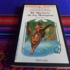 Libros de segunda mano: DUNGEONS & DRAGONS AVENTURA SIN FIN Nº 22 EL MISTERIO DE LOS ANTIGUOS. TIMUN MAS 1988. REGALO Nº 2.. Lote 57886952