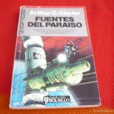 Libros de segunda mano: FUENTES DEL PARAISO ( ARTHUR C. CLARKE ) CIENCIA FICCION ULTRAMAR. Lote 57902489
