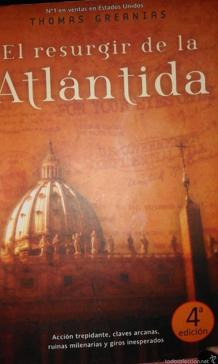 EL RESURGIR DE LA ATLÁNTIDA - THOMAS GREANIAS (Libros de Segunda Mano (posteriores a 1936) - Literatura - Narrativa - Ciencia Ficción y Fantasía)
