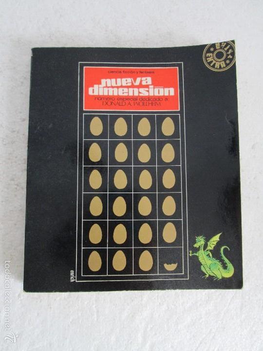 Libros de segunda mano: NUEVA DIMENSION. CIENCIA FICCION Y FANTASIA. 6 LIBROS Nº: 1-13-28-31-49-53. VER FOTOGRAFIAS - Foto 6 - 58161606