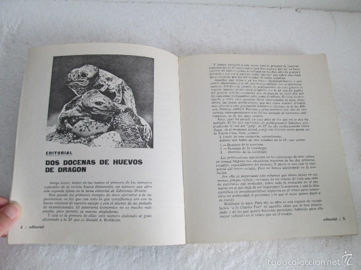 Libros de segunda mano: NUEVA DIMENSION. CIENCIA FICCION Y FANTASIA. 6 LIBROS Nº: 1-13-28-31-49-53. VER FOTOGRAFIAS - Foto 9 - 58161606