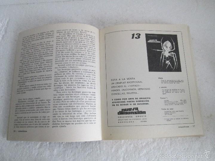 Libros de segunda mano: NUEVA DIMENSION. CIENCIA FICCION Y FANTASIA. 6 LIBROS Nº: 1-13-28-31-49-53. VER FOTOGRAFIAS - Foto 10 - 58161606