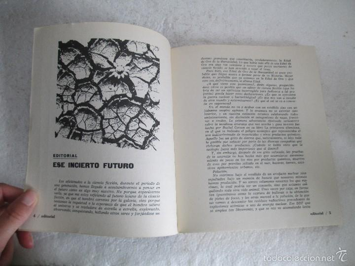 Libros de segunda mano: NUEVA DIMENSION. CIENCIA FICCION Y FANTASIA. 6 LIBROS Nº: 1-13-28-31-49-53. VER FOTOGRAFIAS - Foto 18 - 58161606