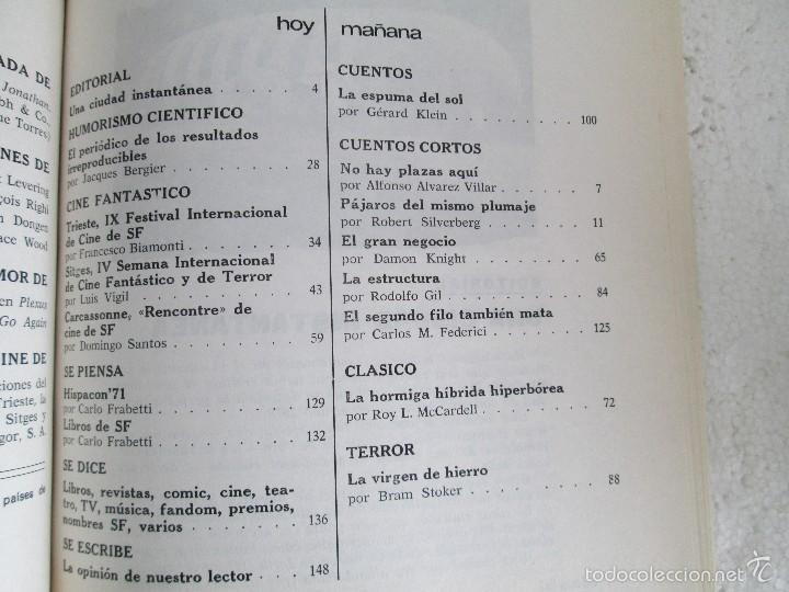 Libros de segunda mano: NUEVA DIMENSION. CIENCIA FICCION Y FANTASIA. 6 LIBROS Nº: 1-13-28-31-49-53. VER FOTOGRAFIAS - Foto 24 - 58161606