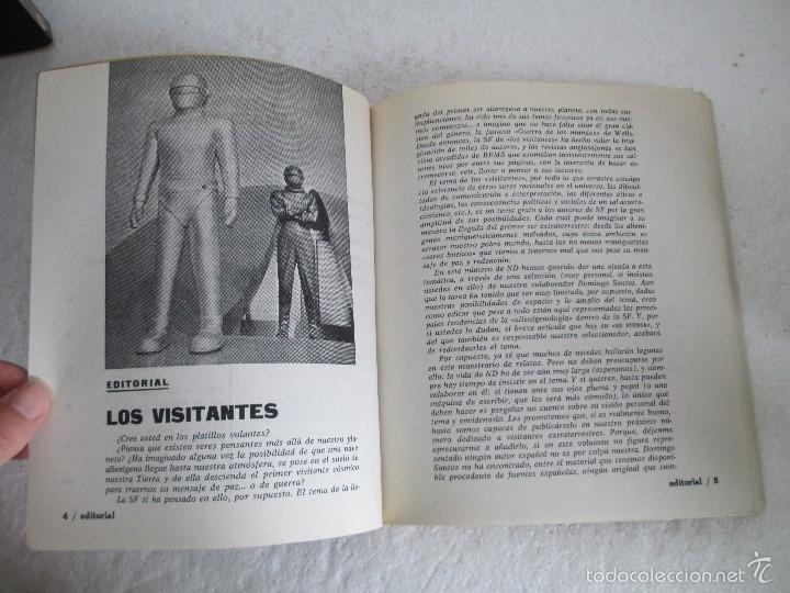 Libros de segunda mano: NUEVA DIMENSION. CIENCIA FICCION Y FANTASIA. 6 LIBROS Nº: 1-13-28-31-49-53. VER FOTOGRAFIAS - Foto 46 - 58161606