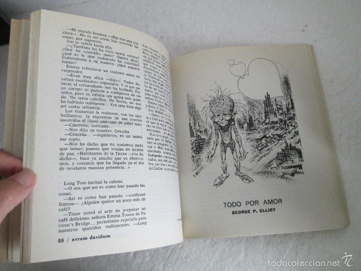 Libros de segunda mano: NUEVA DIMENSION. CIENCIA FICCION Y FANTASIA. 6 LIBROS Nº: 1-13-28-31-49-53. VER FOTOGRAFIAS - Foto 48 - 58161606