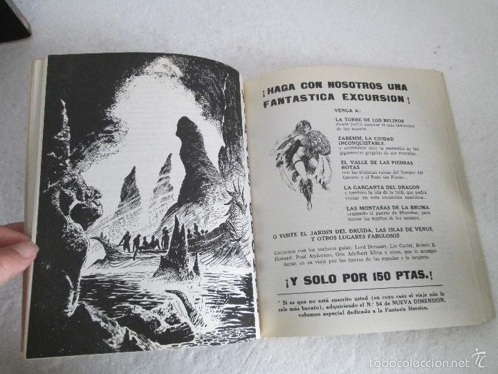 Libros de segunda mano: NUEVA DIMENSION. CIENCIA FICCION Y FANTASIA. 6 LIBROS Nº: 1-13-28-31-49-53. VER FOTOGRAFIAS - Foto 49 - 58161606