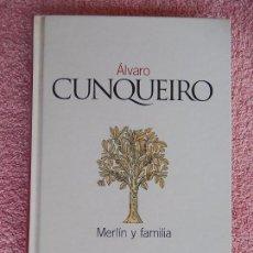 Libros de segunda mano: MERLIN Y FAMILIA CLASICOS DEL SIGLO XX 28 EL PAIS 2003 ALVARO CUNQUEIRO (2). Lote 58186243