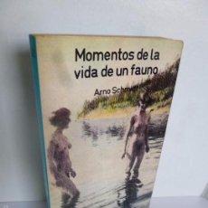 Libros de segunda mano: MOMENTOS DE LA VIDA DE UN FAUNO (ARNO SCHMIDT) ESPIRAL FICCIÓN 30. ED FUNDAMENTOS, 1978 . Lote 58348110