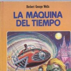Libros de segunda mano: H.G. WELLS, LA MÁQUINA DEL TIEMPO. INTEREDICIONES, CLÁSICOS JUVENILES.. Lote 58531673