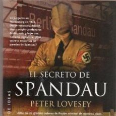 Libros de segunda mano - LOVESEY,Peter ,EL SECRETO DE SPANDAU , 2015 La Factoria de Ideas - 59157370