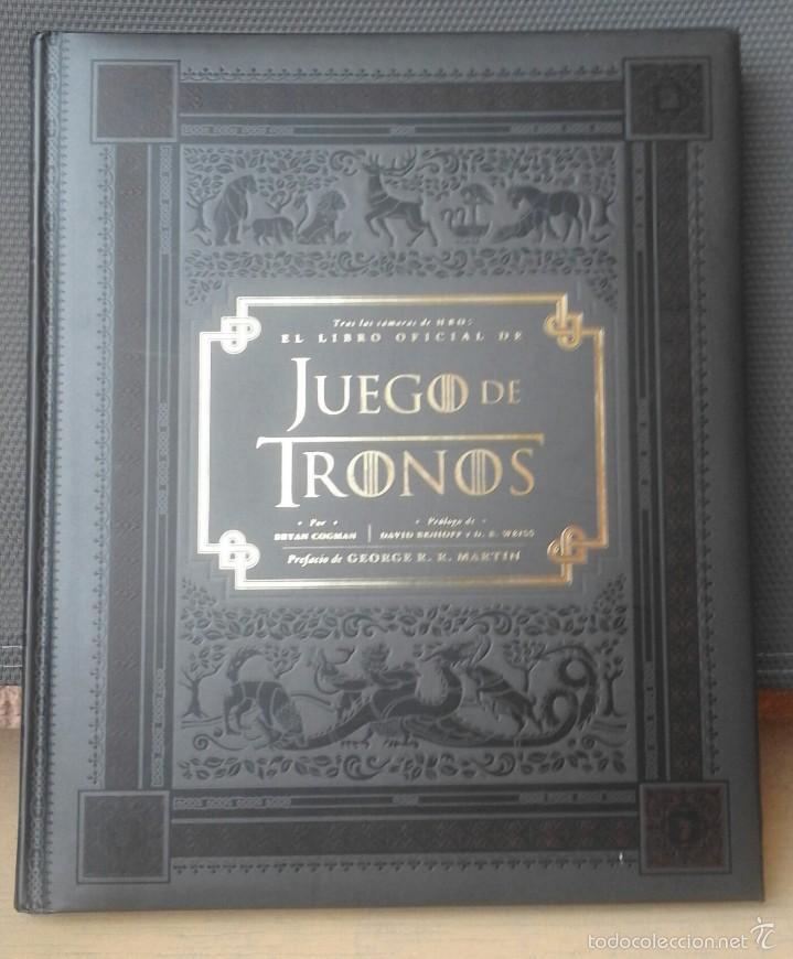 EL LIBRO OFICIAL DE JUEGO DE TRONOS - BRYAN COGMAN - EJEMPLAR DESCATALOGADO (Libros de Segunda Mano (posteriores a 1936) - Literatura - Narrativa - Ciencia Ficción y Fantasía)
