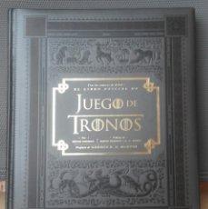 Libros de segunda mano: EL LIBRO OFICIAL DE JUEGO DE TRONOS - BRYAN COGMAN - EJEMPLAR DESCATALOGADO. Lote 108849542