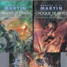 Libros de segunda mano: GEORGE R.R. MARTIN - JUEGO DE TRONOS -TORMENTA DE ESPADAS -. Lote 59757348