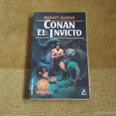 CONAN EL INVICTO. ROBERT JORDAN (MARTINEZ ROCA FANTASY 53)