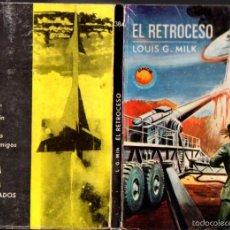Libros de segunda mano: TORAY ESPACIO MUNDO FUTURO : LOUIS G. MILK - EL RETROCESO (1966). Lote 60515279