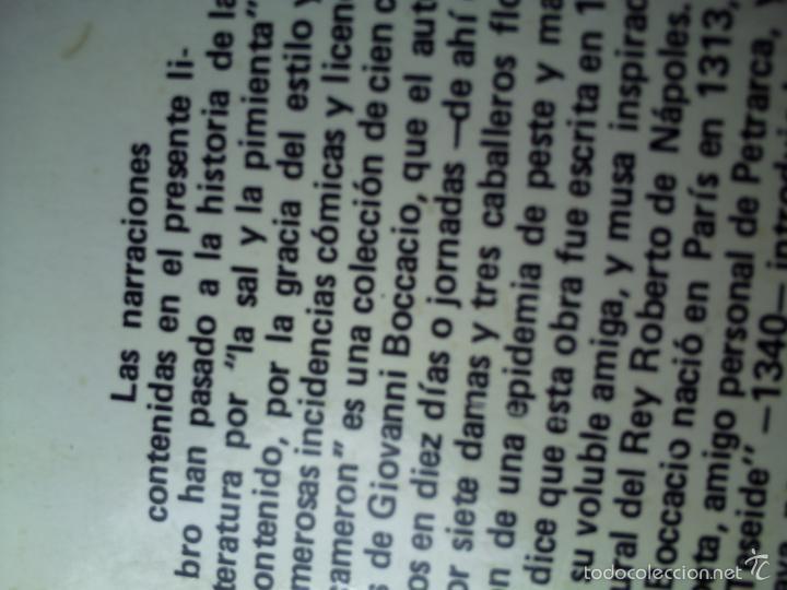 Libros de segunda mano: EL DECAMERÓN DE GIOVANNI BOCCACCIO. EDICIONES ALONSO 1974 - Foto 2 - 60634363