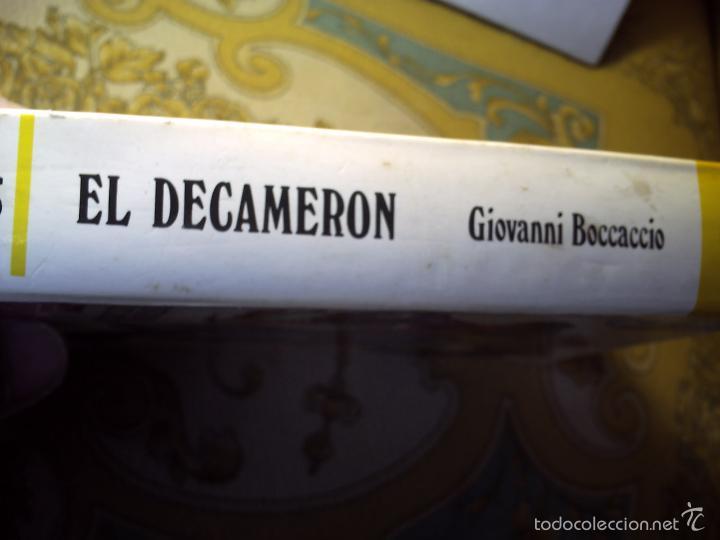 Libros de segunda mano: EL DECAMERÓN DE GIOVANNI BOCCACCIO. EDICIONES ALONSO 1974 - Foto 3 - 60634363