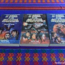 Libros de segunda mano: STAR WARS. HEREDERO DEL IMPERIO, EL RESURGIR DE LA FUERZA OSCURA Y LA ÚLTIMA ORDEN. MARTÍNEZ ROCA.. Lote 67565382