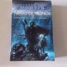 Libros de segunda mano: JUEGO DE TRONOS CANCION DE HIELO Y FUEGO. Lote 61908164