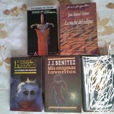 Libros de segunda mano: LOS SERVIDORES DEL CREPÚSCULO,LA ESPADA DE JORAM LA PROFECÍA,MIS ENIGMAS FAVORITOS. Lote 57503207