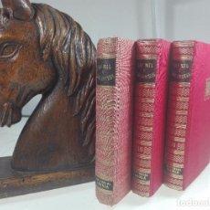 Libros de segunda mano: LAS MIL Y UNA NOCHES - 3 VOLÚMENES - EDITORIAL IBERIA - OBRAS MAESTRAS - 1956 - . Lote 63355404