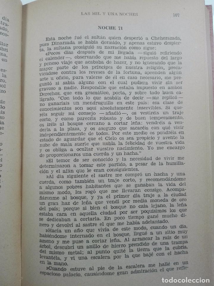 Libros de segunda mano: LAS MIL Y UNA NOCHES - 3 VOLÚMENES - EDITORIAL IBERIA - OBRAS MAESTRAS - 1956 - - Foto 6 - 63355404