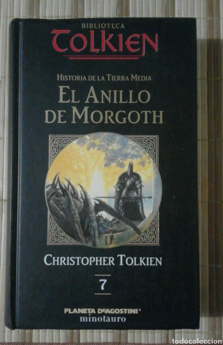 EL ANILLO DE MORGOTH. HISTORIA DE LA TIERRA MEDIA - CHRISTOPHER TOLKIEN (Libros de Segunda Mano (posteriores a 1936) - Literatura - Narrativa - Ciencia Ficción y Fantasía)