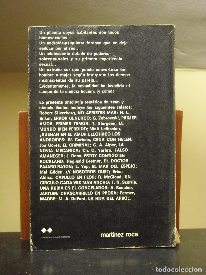 Libros de segunda mano: LIBRO - EXTRAÑOS COMPAÑEROS DE CAMA - THOMAS N. SCORTIA - MARTINEZ ROCA SUPER FICCION 1979 - Foto 2 - 63438672