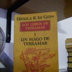 Libros de segunda mano: LOS LIBROS DE TERRAMAR I: UN MAGO DE TERRAMAR - URSULA K. LE GUIN - 2000. Lote 63535460