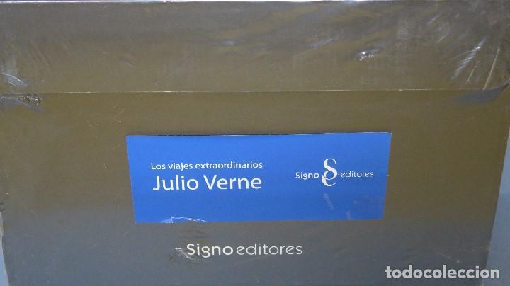 Libros de segunda mano: NUEVO ! LOS VIAJES EXTRAORDINARIOS. JULIO VERNE. SIGNO EDITORES - Foto 2 - 64717903