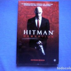 Libros de segunda mano: LIBRO HITMAN DAMNATION 2012 RAYMOND BENSON ED LA ESFERA DE LIBROS IO INTERACTIVE. Lote 64991607
