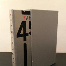 Libros de segunda mano: RAY BRADBURY: FAHRENHEIT 451 - FIRMADO POR BRADBURY & JOSEPH MUGNAINI - ENCUADERNACION - 311/9805. Lote 65831606