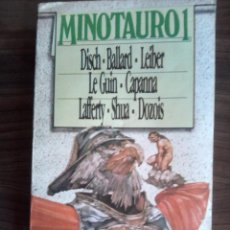 Libros de segunda mano: REVISTA MINOTAURO SEGUNDA EPOCA Nº 1 ARGENTINA ABRIL 1983 7 RELATOS. Lote 67236841